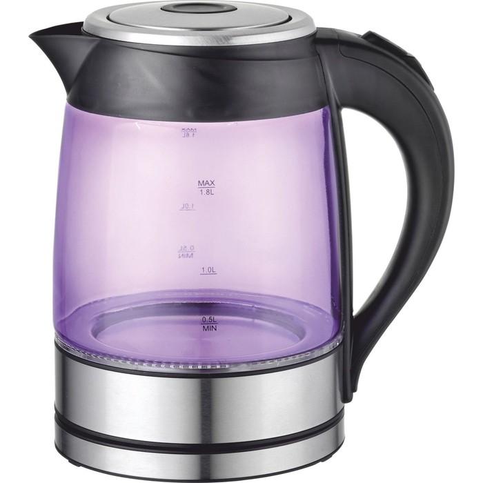 Чайник электрический Добрыня DO-1228V фиолетовый