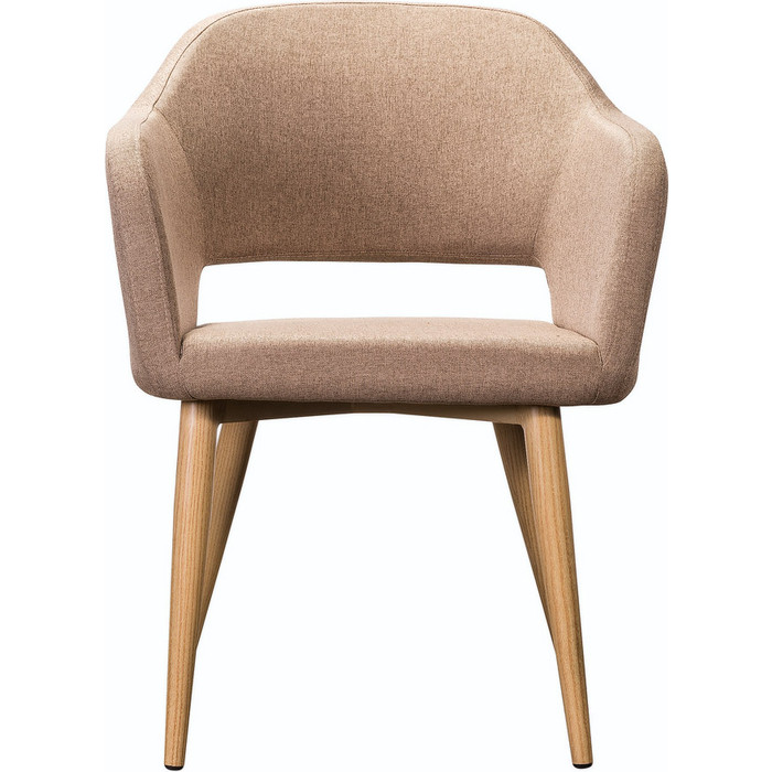 Кресло R-home Oscar Сканди браун/натур