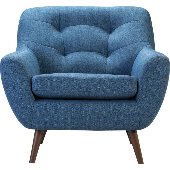 Кресло R-home Сканди 1 блю стул ресторация наврик soft сканди блю