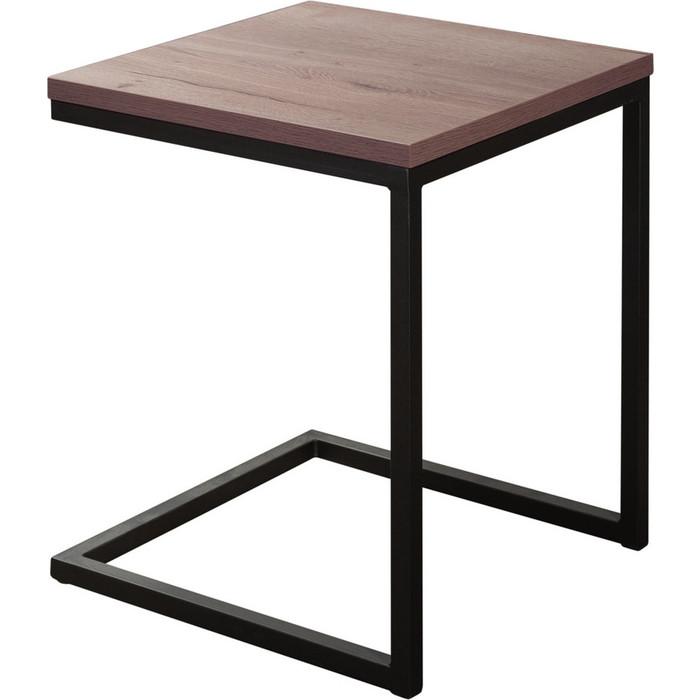 Стол кофейный R-home Loft №1 50x50x60 табак