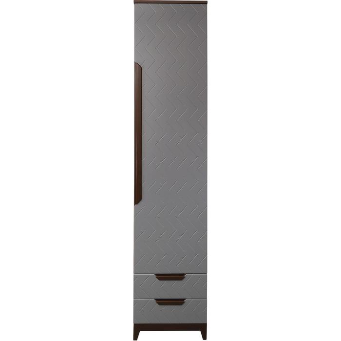 Шкаф универсальный R-home Сканди грей с ящиками