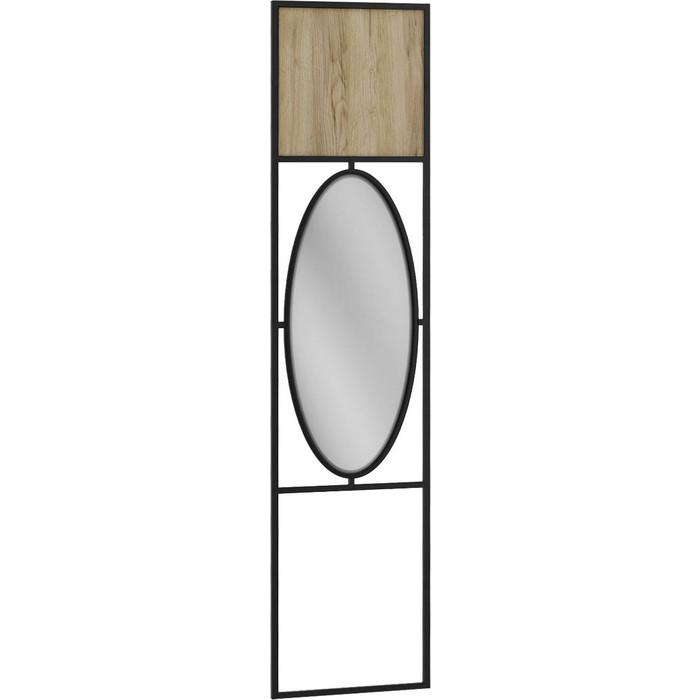 Панель R-home Loft дуб натуральный с зеркалом для прихожей панель для прихожей с зеркалом loft дуб табак