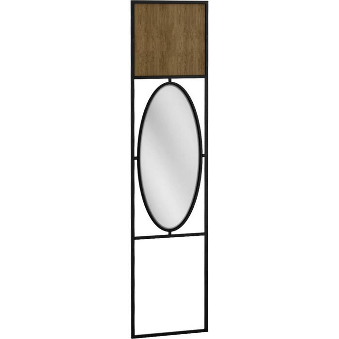 Панель R-home Loft дуб табак с зеркалом для прихожей панель для прихожей с зеркалом loft дуб табак