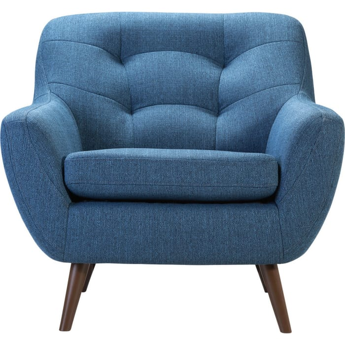 Кресло R-home Сканди 1 блю арт стул ресторация наврик soft сканди блю
