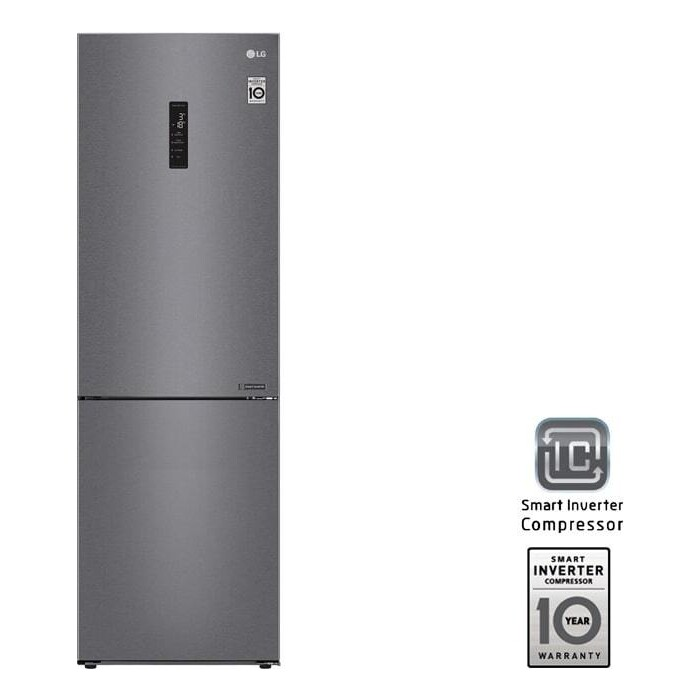 Холодильник LG GA-B459CLSL DoorCooling+ холодильник lg ga b459cqcl doorcooling