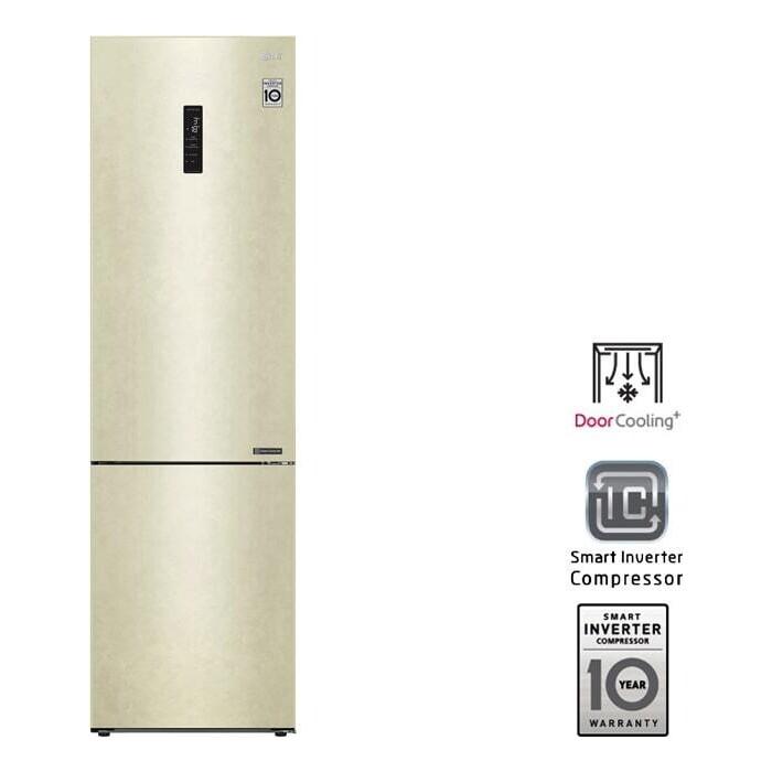 Холодильник LG GA-B509CESL DoorCooling+ холодильник lg ga b459cqcl doorcooling