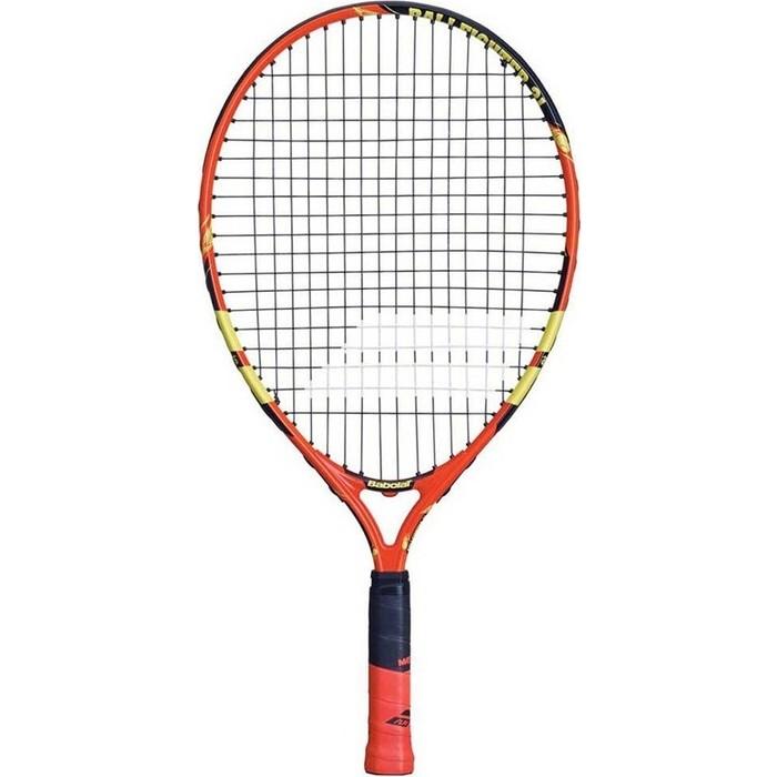 Ракетка для большого тенниса Babolat Ballfighter Gr000, 140239, детей 5-7 лет, оранжево-черно-желтый