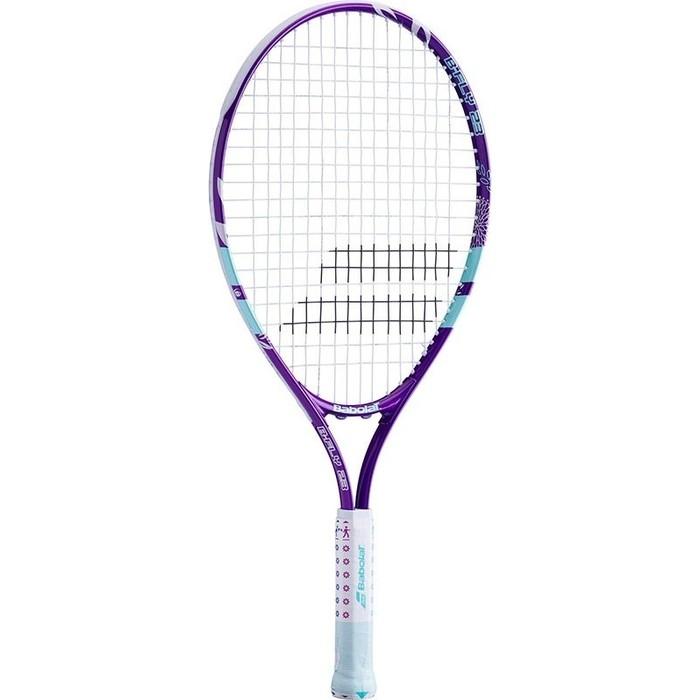 Ракетка для большого тенниса Babolat BFLY 23 Gr000, 140244, детская, 7-9 лет, фиолет-бирюзовый