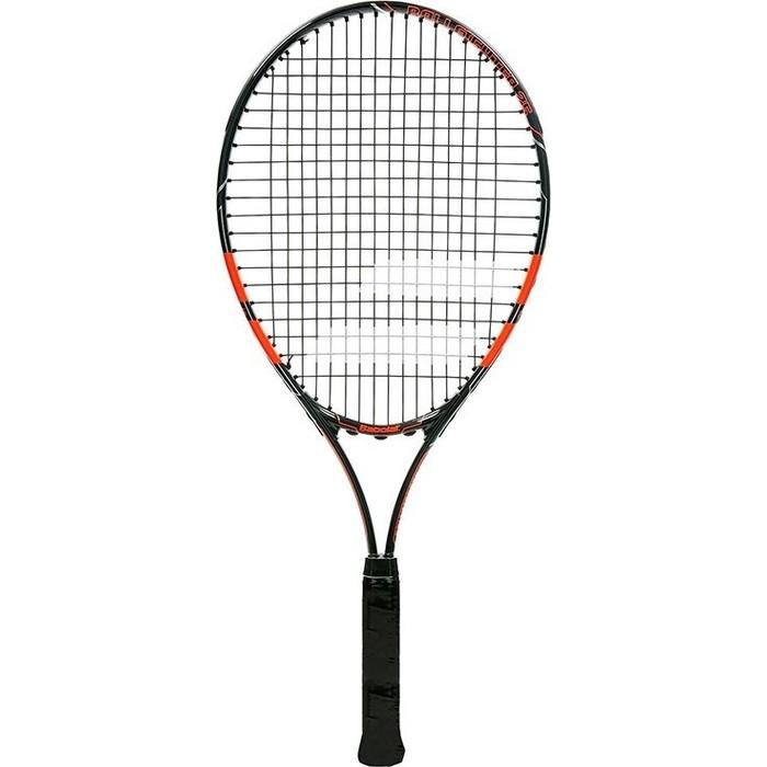 Ракетка для большого тенниса Babolat Ballfighter 25 Gr00, 140241, детская, 9-10 лет, черно-оранжевый ракетка для большого тенниса babolat b fly 23 gr000 140244 детская 7 9 лет фиолет бирюзовый