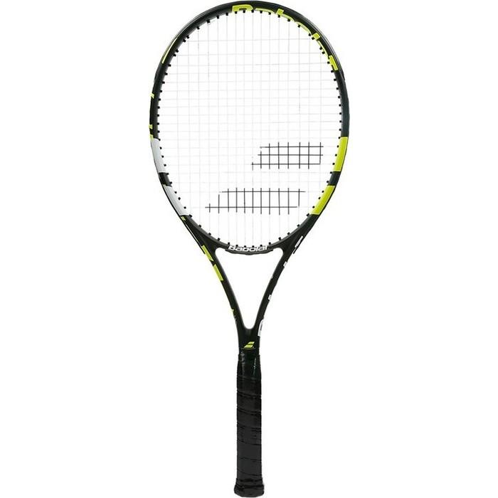 Ракетка для большого тенниса Babolat Evoke 102 Gr2, 121203-271, черно-желто-белый