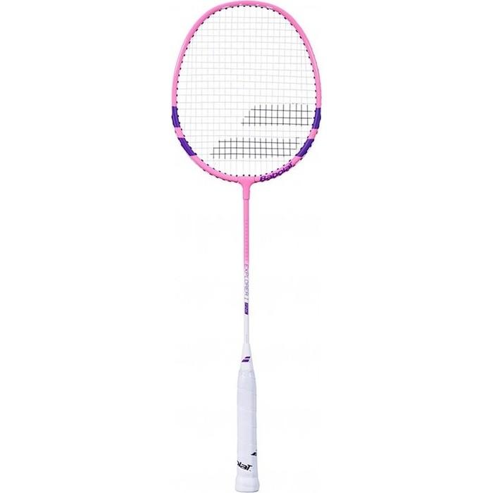 Ракетка для бадминтона Babolat Exploler I, 601298-156, черно-розовый