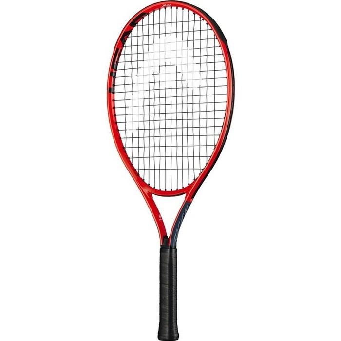 Ракетка для большого тенниса Head Radical 23 Gr06, 234629, детей 6-8лет, красно-черная