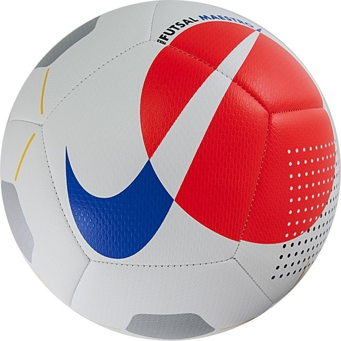 Мяч футзальный Nike Maestro SC3974-101, р.4,бело-красно-синий