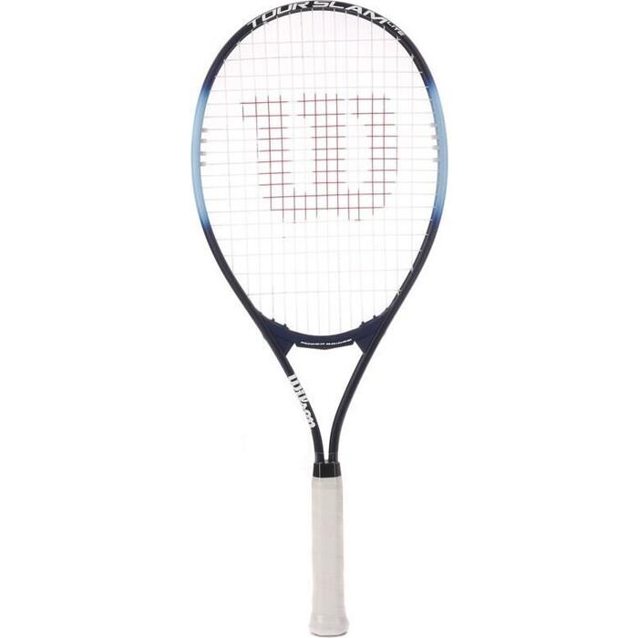 Ракетка для большого тенниса Wilson Tour Slam Lite Gr3, WRT30210U3, любителей, сине-голубая