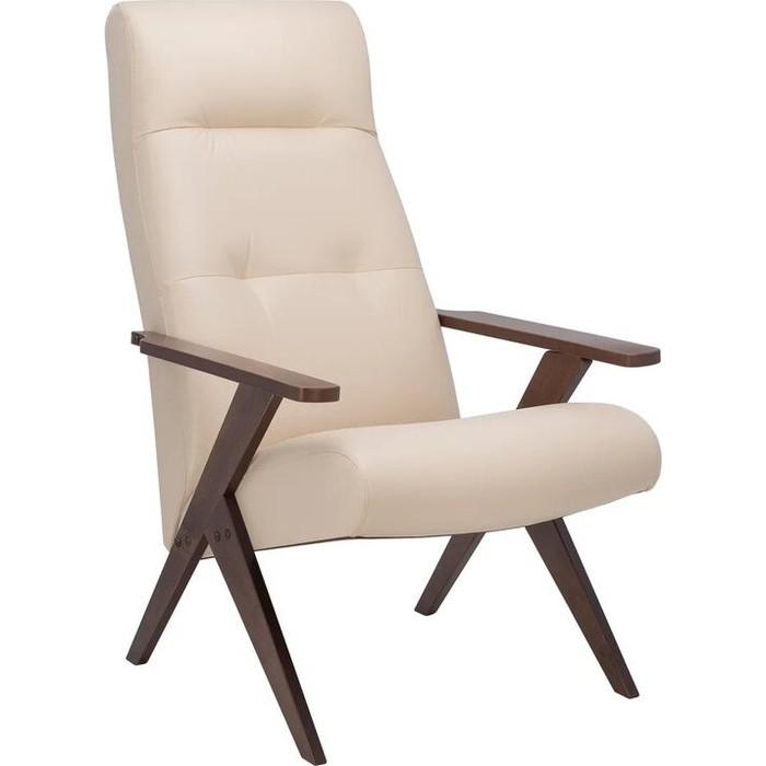 Кресло Leset Tinto (стационарное) орех/ polaris/beige