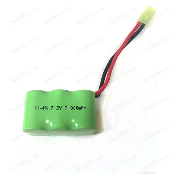 Аккумулятор TRAXXAS Ni-Mh 7.2V 900 mAh - 7010-02 аккумулятор topon top ptgd bos 18 a ni mh 14 4 в 3 а·ч