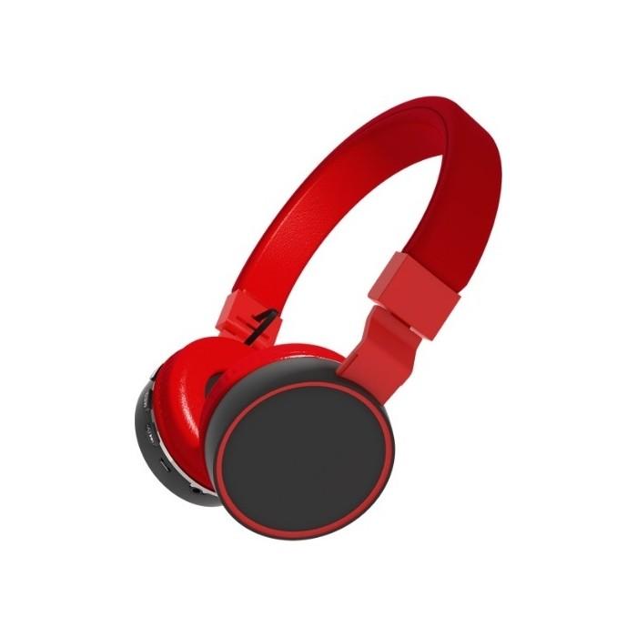 Наушники Ritmix RH-415BTH black/red