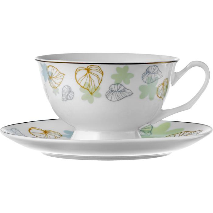 Чайная пара 230 мл Esprado Botanica (BTN023GE303) неактивный чайная пара золотая полоска 230 мл 4 предмета чашка на ножке в п у
