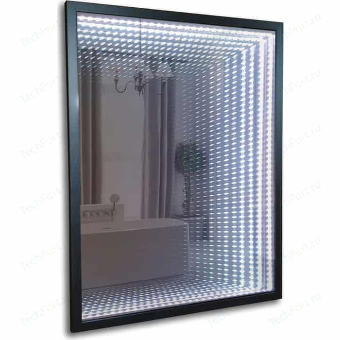Зеркало Mixline Серенити 60х80 с подсветкой и сенсором выключателем, в багетной раме (4620001987610)