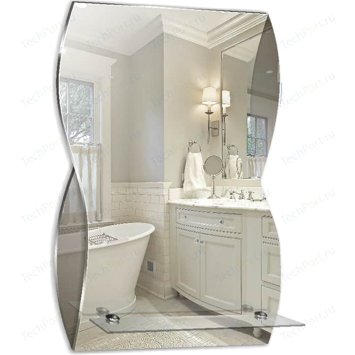 Зеркало Mixline Соблазн 44х68 с полкой (4620001986422)