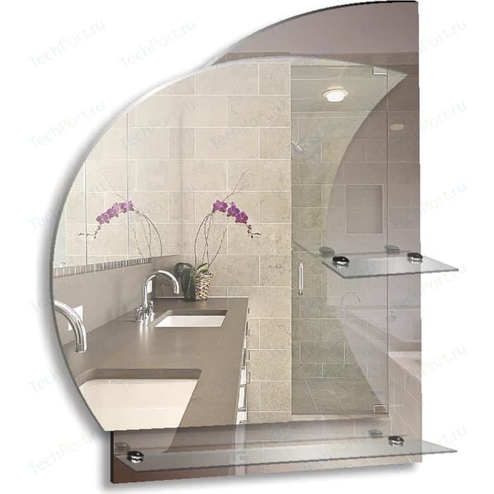 Зеркало Mixline Фрегат 57,5х68,5 с полками (4620001986385)