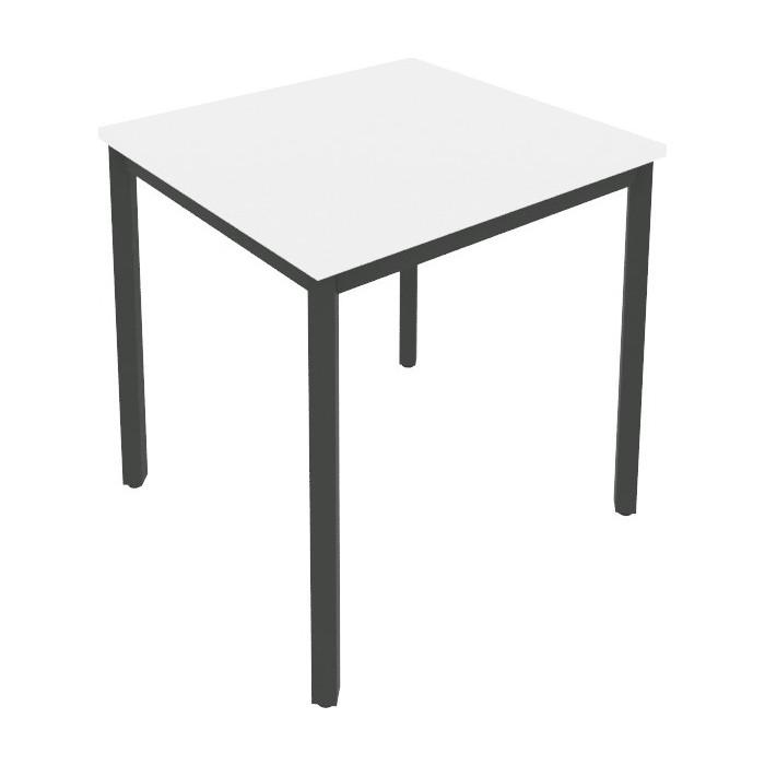Стол письменный на металлокаркасе Riva Slim С.СП-2 белый/антрацит металл 78x72x75 комплект