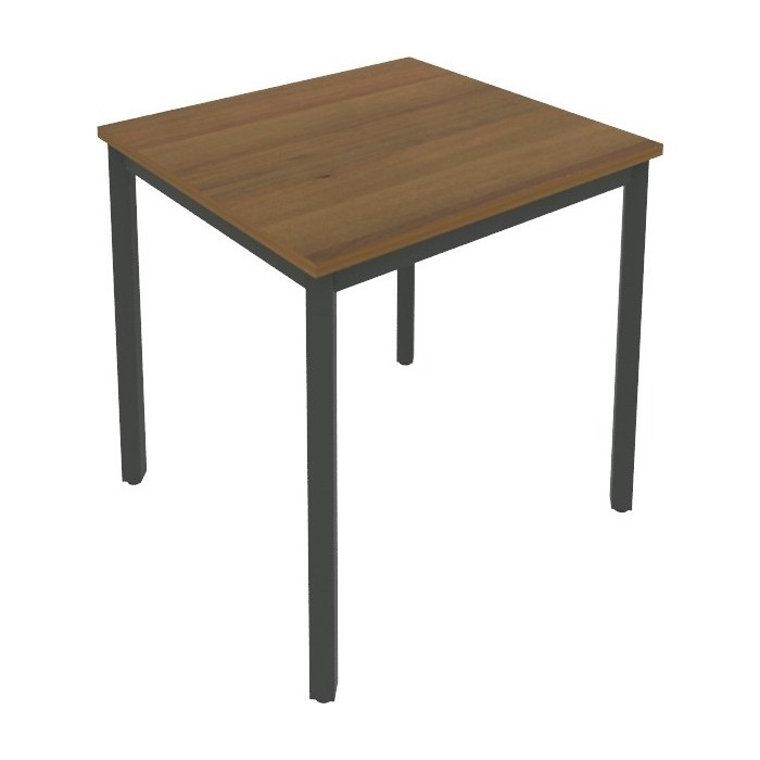 Стол письменный на металлокаркасе Riva Slim С.СП-2 орех/антрацит металл 78x72x75 комплект