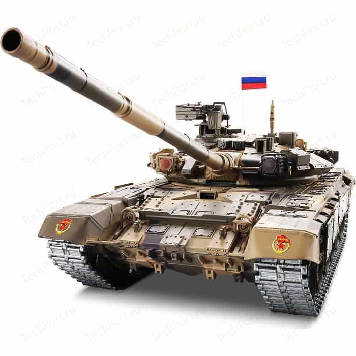 Радиоуправляемый танк Heng Long T90 Pro Russia масштаб 1:16 RTR 2.4G - 3938-1UpgA V6.0