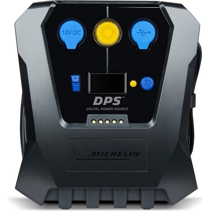 Компрессор автомобильный MICHELIN цифровой программируемый, с выходом на 12В и USB, LED подсветкой