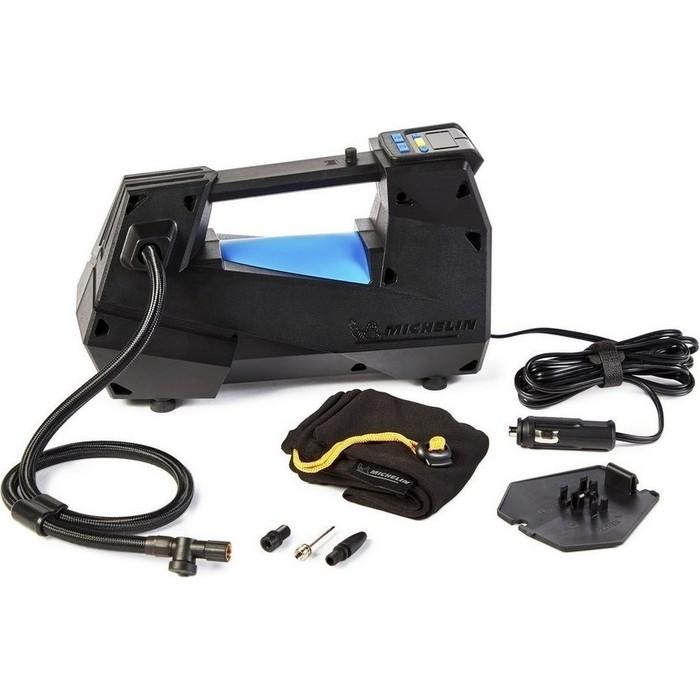 Компрессор автомобильный MICHELIN цифровой однопоршневой, программируемый, 12В, с LED подсветкой