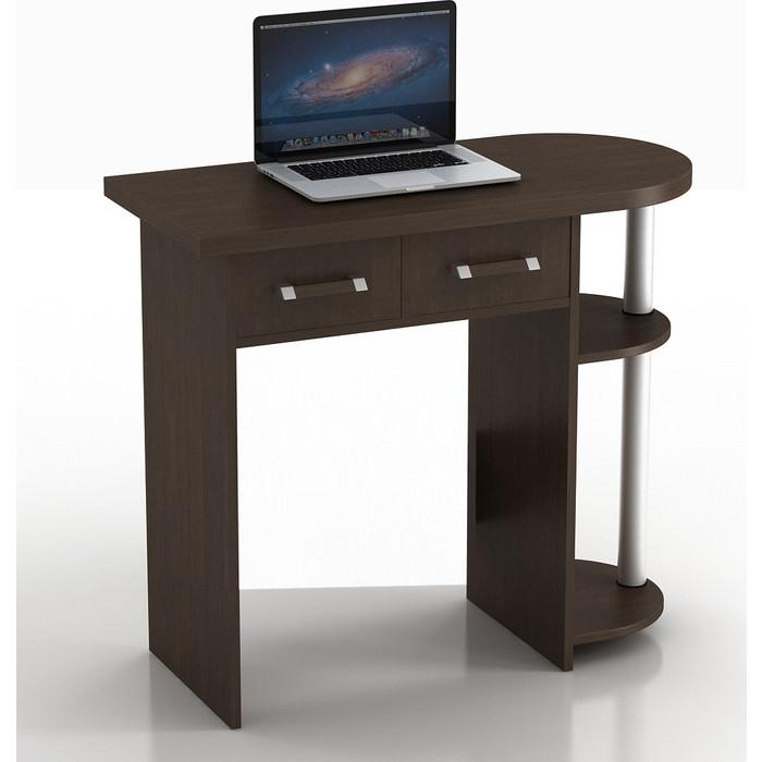 Стол компьютерный ТД Ная Прямой КС-10 С Иволга венге