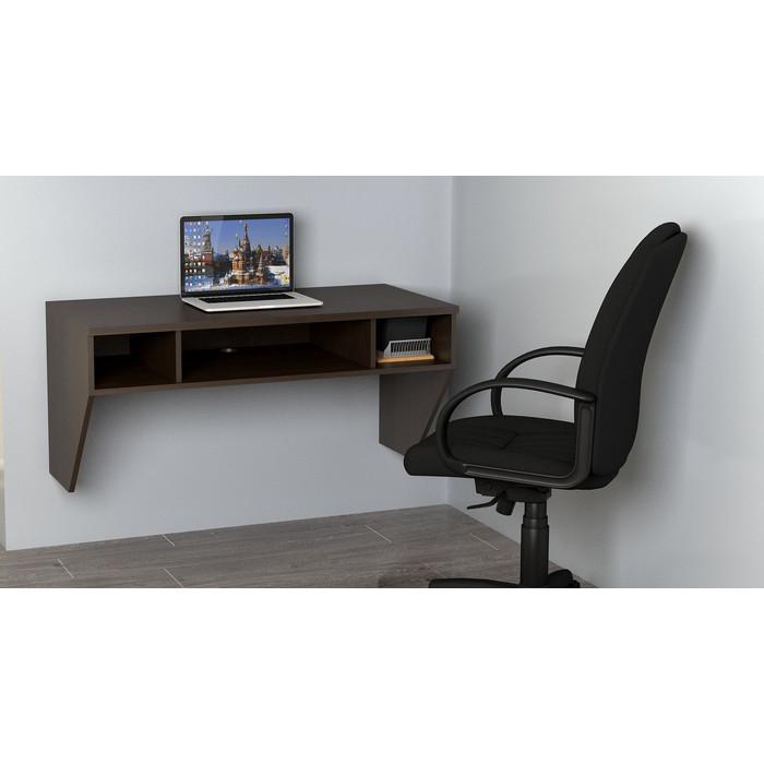 Стол компьютерный ТД Ная Навесной Сити КСН-11С венге