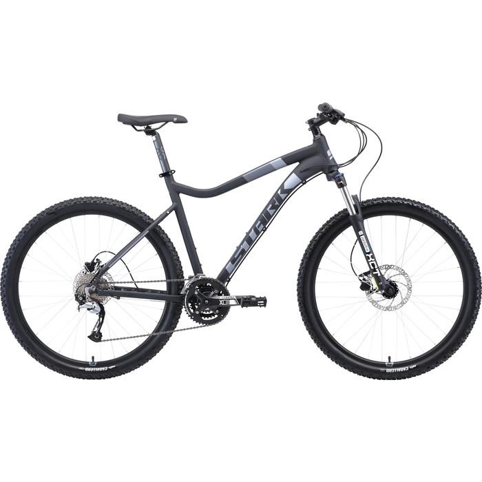 Велосипед Stark Tactic 27.5 HD (2019) чёрный/серый 22