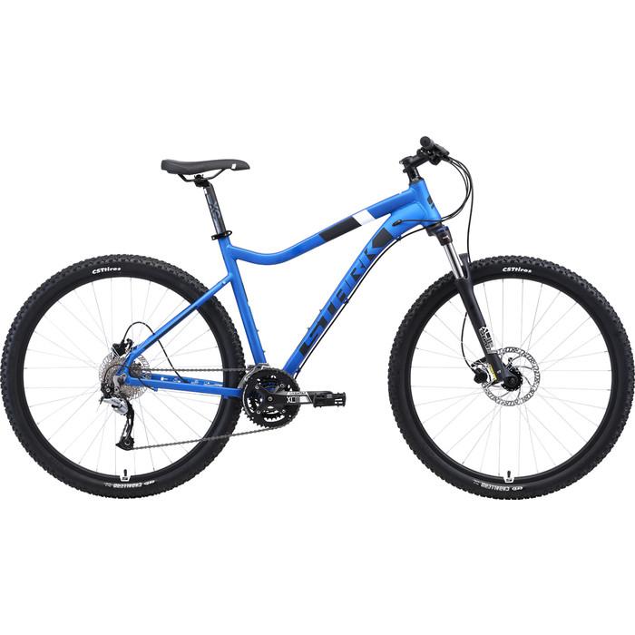 Велосипед Stark Tactic 29.5 HD (2019) голубой/чёрный/белый 20
