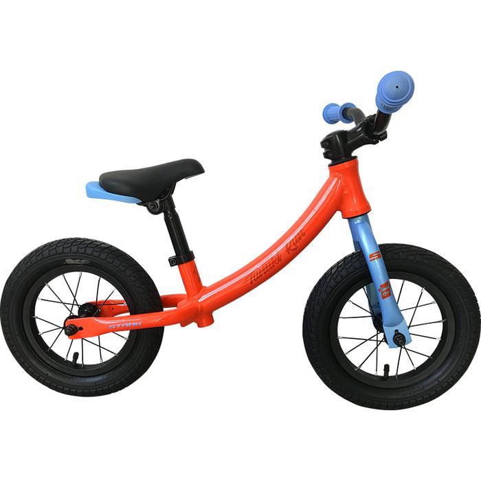 Велосипед Stark 19 Tanuki Run 12 оранжевый/голубой (беговел)