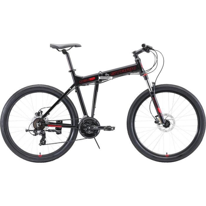 Велосипед Stark 20 Cobra 26.2 HD (2019) чёрный/красный 18