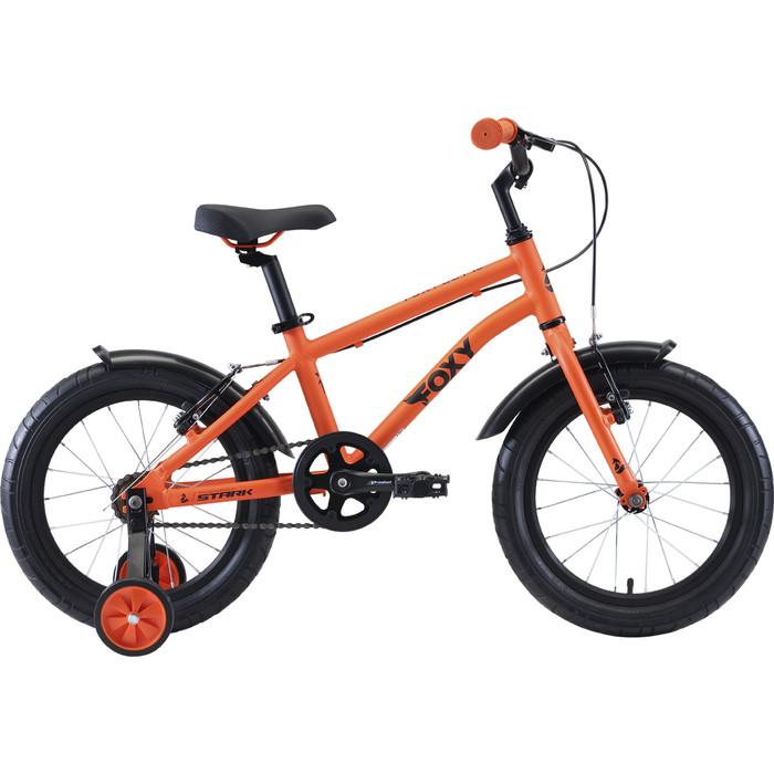 Велосипед Stark 20 Foxy 16 Boy оранжевый/голубой/черный