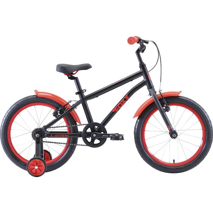 Велосипед Stark Foxy 18 Boy чёрный/красный