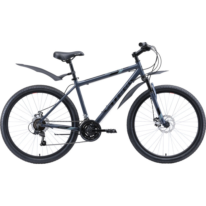 Велосипед Stark Outpost 26.1 D (2020) серый/чёрный 18