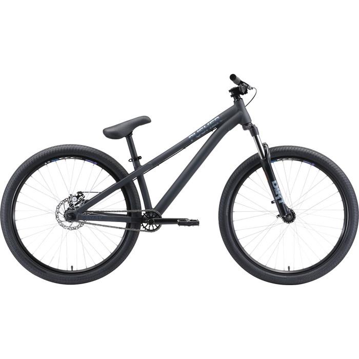 Велосипед Stark Pusher 2 (2020) чёрный/серый S