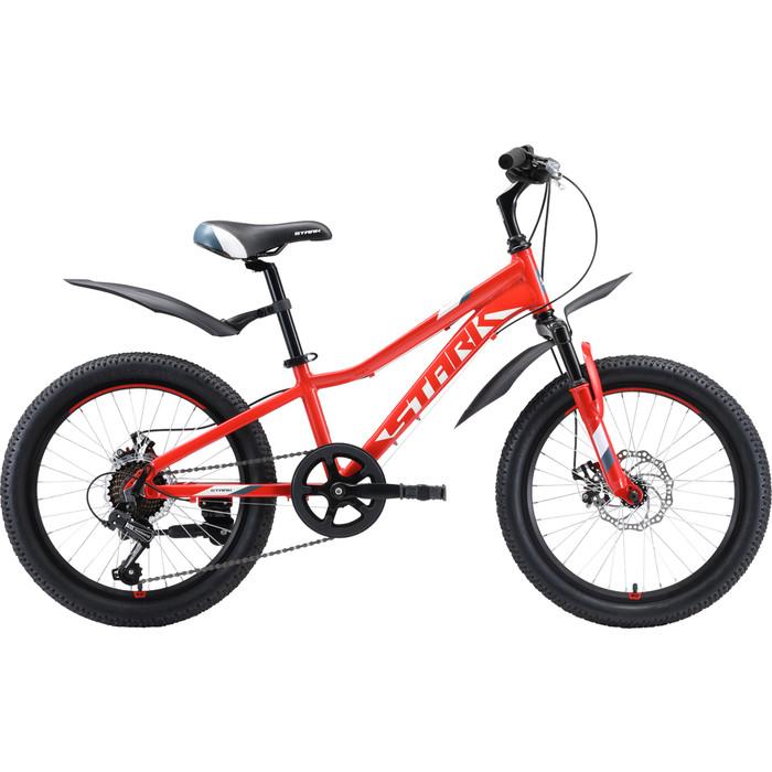 Велосипед Stark Rocket 20.1 D красный/белый/серый