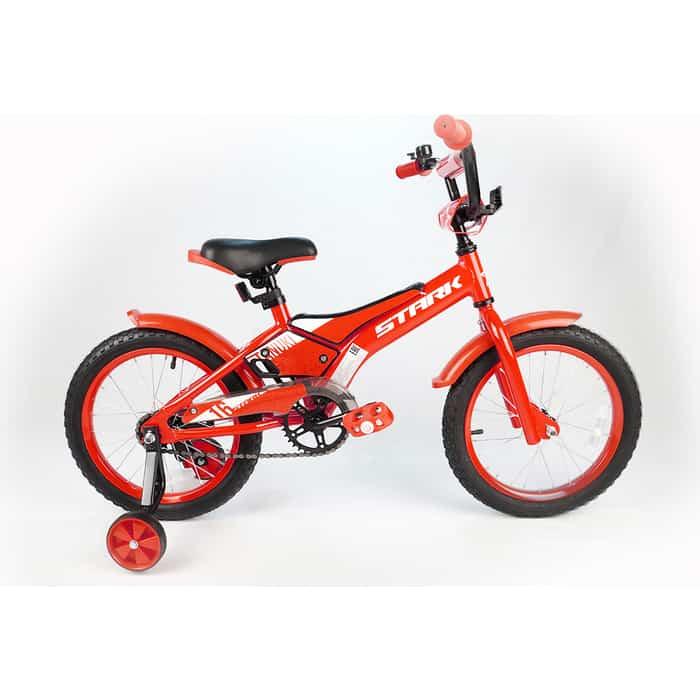 Велосипед Stark 20 Tanuki 16 Boy красный/белый