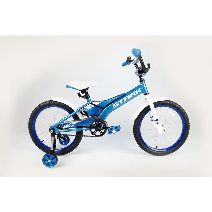 Велосипед Stark 20 Tanuki 18 Boy голубой/белый