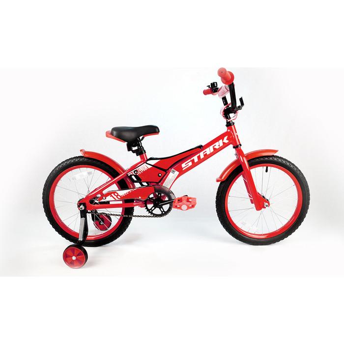 Велосипед Stark Tanuki 18 Boy красный/белый