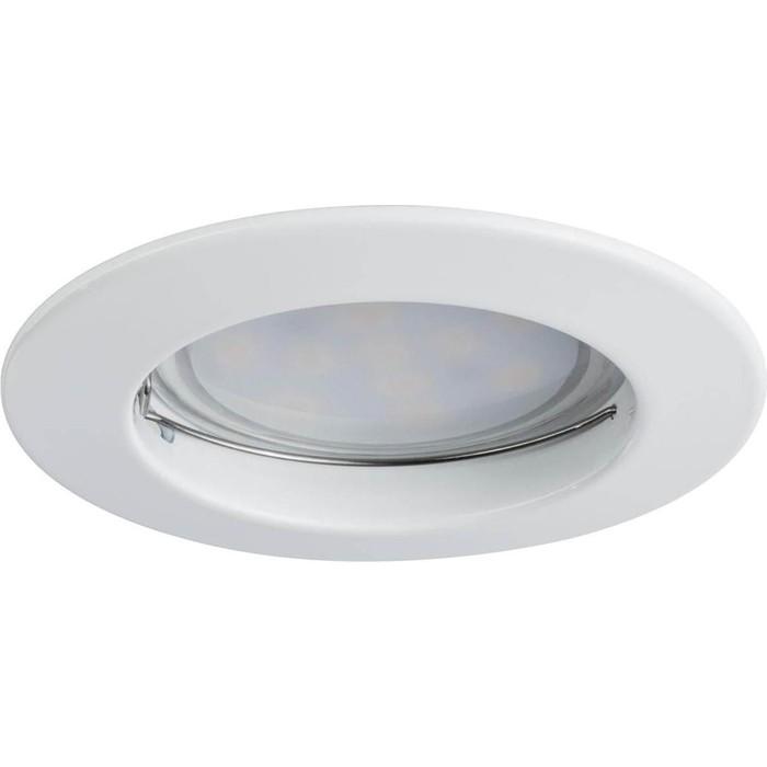 Встраиваемый светодиодный светильник Paulmann 93973 paulmann встраиваемый светильник paulmann 920 15