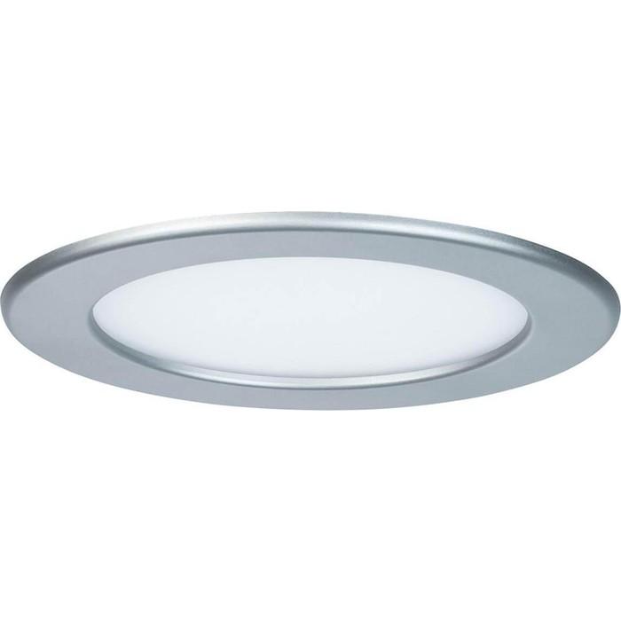 Встраиваемый светодиодный светильник Paulmann 92071 paulmann встраиваемый светильник paulmann 920 15