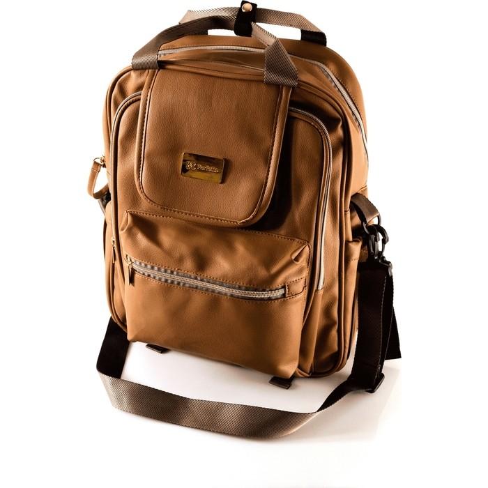 Рюкзак для мамы Farfello F4 коричневый