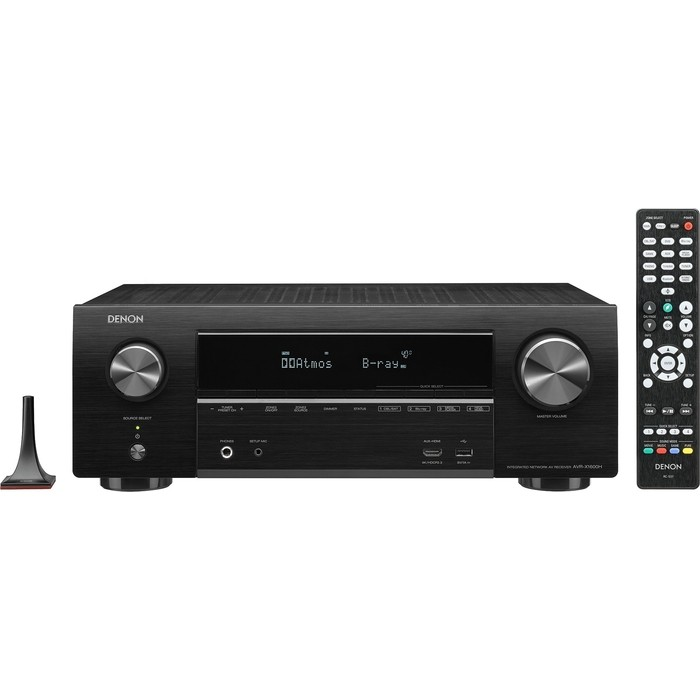 AV-ресивер Denon AVR-X1600H (AVRX1600HBKE2) black