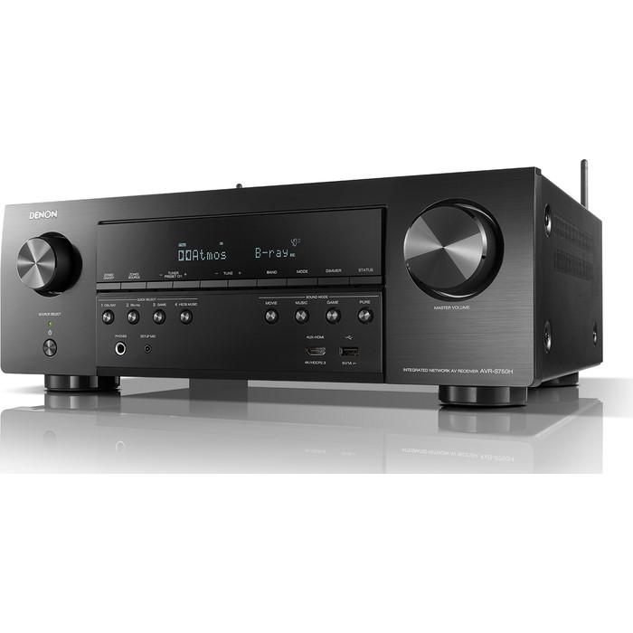 цена на AV-ресивер Denon AVR-S750H (AVRS750HBKE2) black