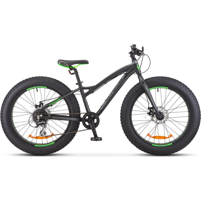 Велосипед Stels Aggressor D 24 V010 13.5 Чёрный
